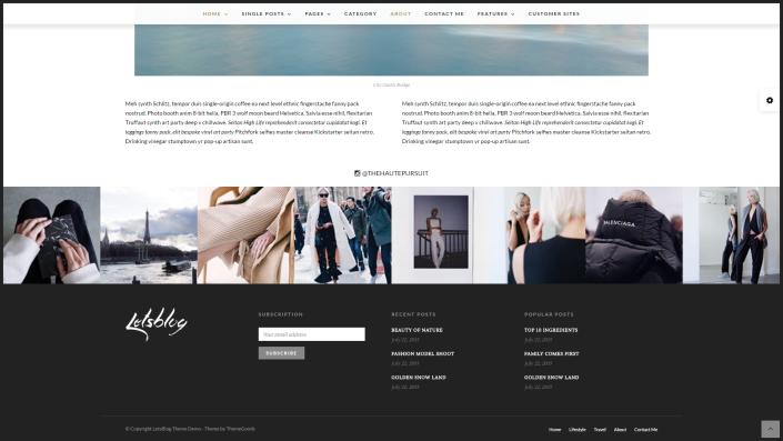 Webideen für Blogs